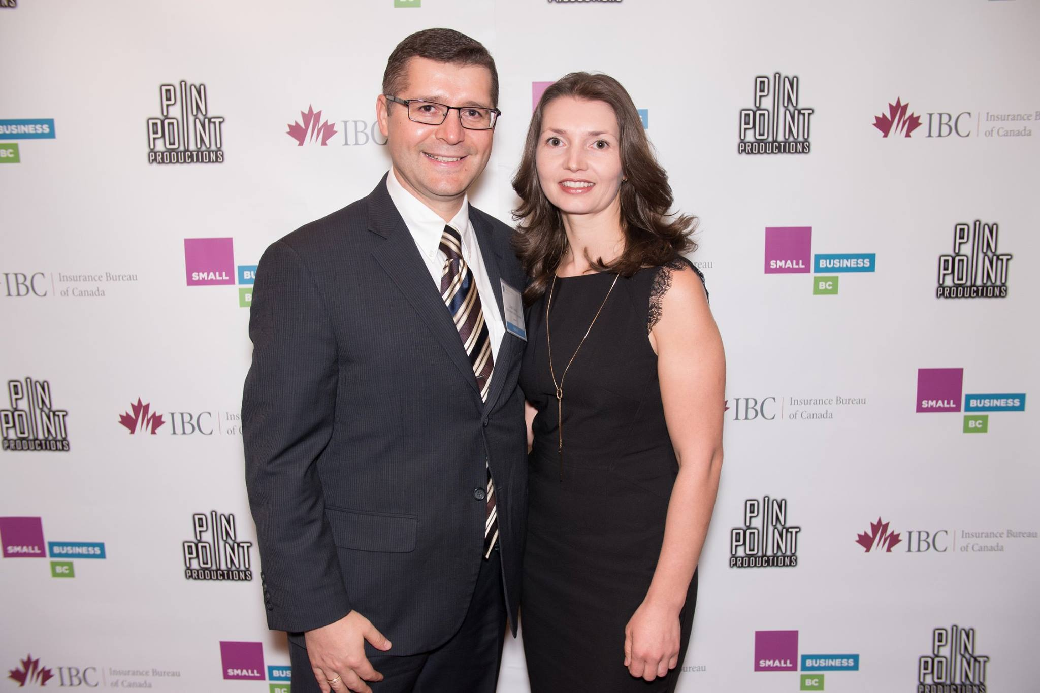 Lilián Cazacu and his wife Ala took home the Best Immigrant Entrepreneur Award in February.